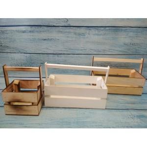 Ящик деревянный с ручкой