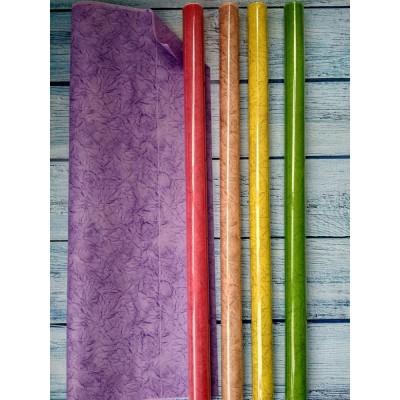 Крафт бумага двухсторонняя цветная 70см*10м