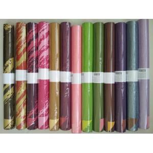 Бумага рельефная цветная 50см*5м