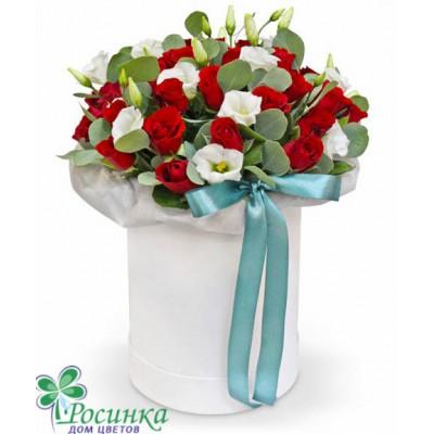 Цветы в коробках №415