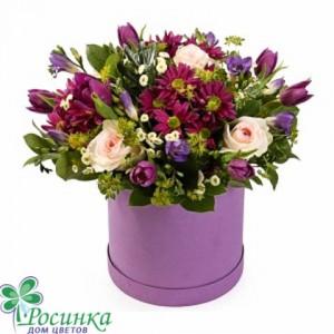 Цветы в коробках №520