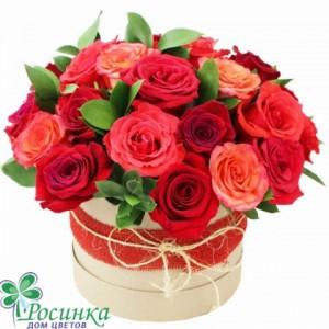 Цветы в коробках №521
