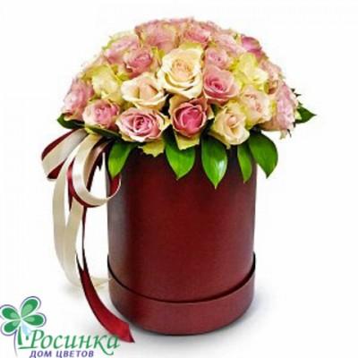 Цветы в коробках №523