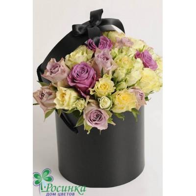 Цветы в коробках №524