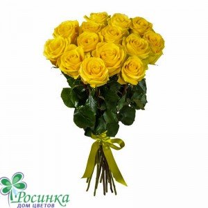 15 Желтых Роз №76