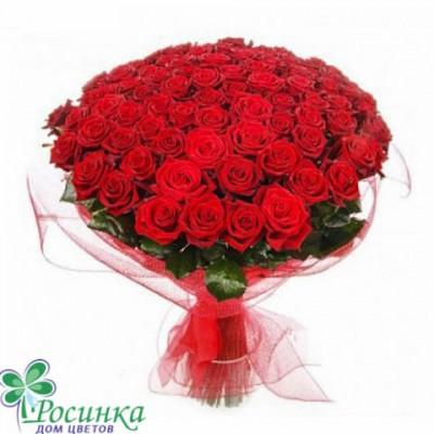 """101 Роза """"Торжество""""  Букет №16"""