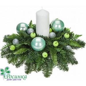 Свеча Новогодняя