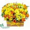 Цветы в ящичке