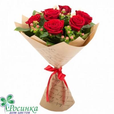Букет №3 - 9 роз