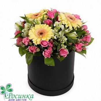 Цветы в коробках №522