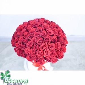 Цветы в коробках №138 Роз 85 шт