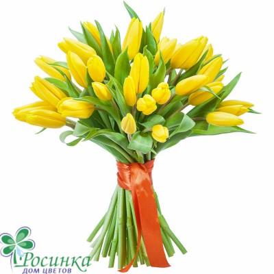 """Букет тюльпанов """"Луч солнца"""" (31 или 45)"""