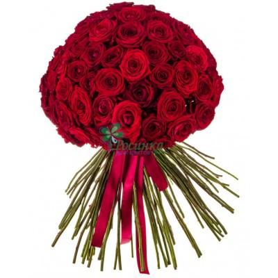 """Букет из 101 розы """"Облако страсти"""""""