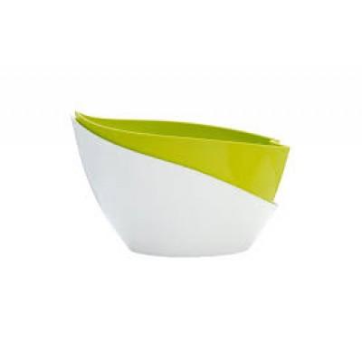 Doppio с автополивом 14*20см(зелено-белый)
