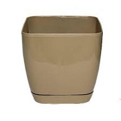 Toskana квадратное 2.5л. с под.(кофе)