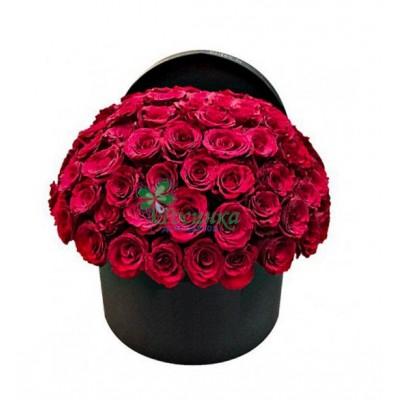 №757 - Розы 51 шт