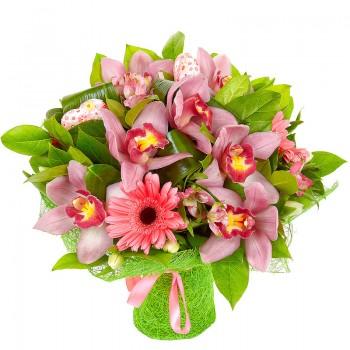 Букет из Орхидея