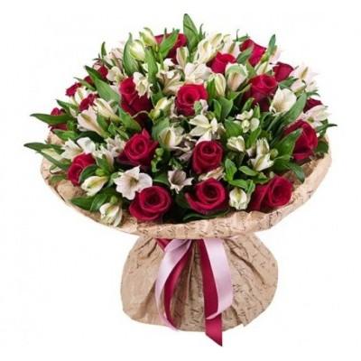 Букет из роз «Версаль»
