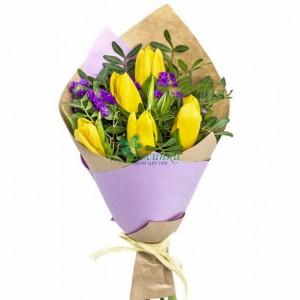 """Букет из тюльпанов """"8 Марта"""""""