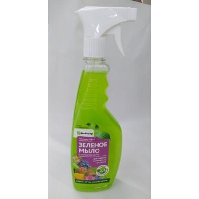 """Зеленое мыло""""БиоМастер 500мл с распылителем"""