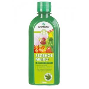 """Зеленое мыло""""БиоМастер с пихтовым экстратом"""" 0.2л."""