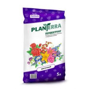 """Почвогрунт """"Plan Terra Цветочный"""" 5л."""