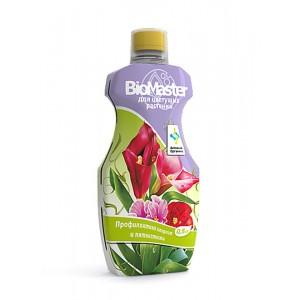 """Удобрение """"БиоМастер - для цветущих растений"""" 0.5л"""