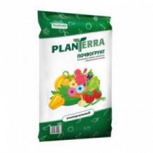 """Почвогрунт """"Plan Terra""""  Универсальный садово-огородный 5л"""